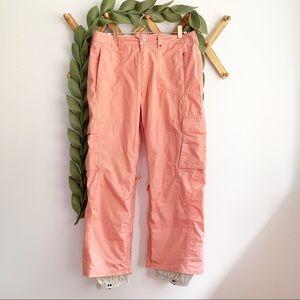 Burton Peach/Pink Snowboard Pants